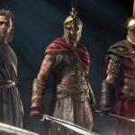 Plot Assassin's Creed Odyssey: The legendary swords