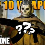 Top 10 most badass weapons in Call Of Duty: Warzone