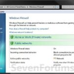 Restore default Firewall (Windows Firewall) settings in Windows