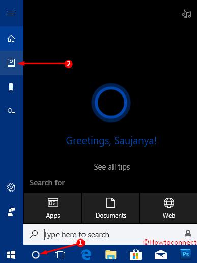 Add a Gmail account to Cortana photos 1