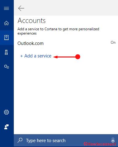 Thêm Tài khoản Gmail vào Ảnh Cortana 3