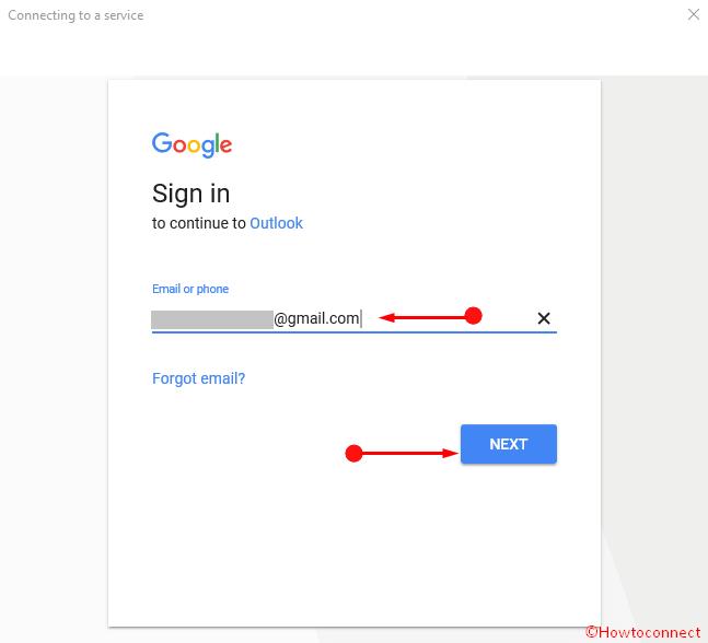 Thêm Tài khoản Gmail vào Ảnh Cortana 6