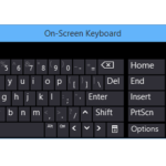 How to enable the virtual keyboard (On-Screen Keyboard) in Windows 10 fast