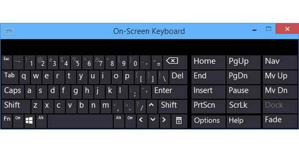 6 ways to open the virtual keyboard on Windows