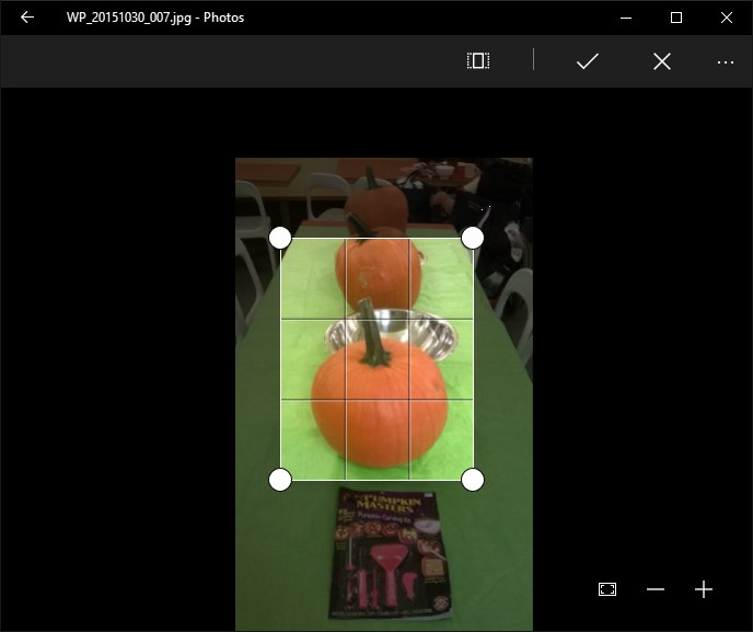 How to crop, resize and enhance photos in Windows 10
