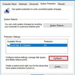 How to Restore a System on Windows 10 using System Restore