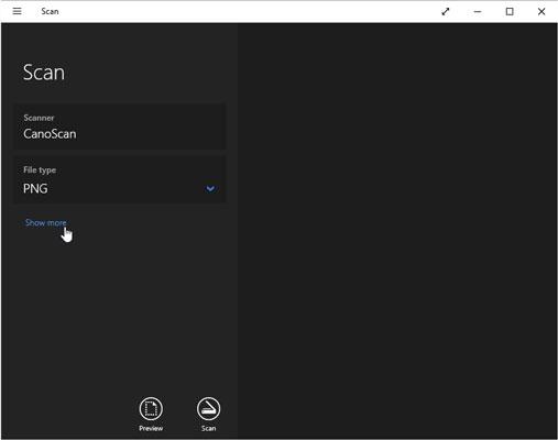 cach Scan tai lieu trong Windows 10