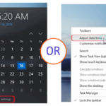 Change the Date and Time on Windows 10 quickly