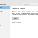 Fix error 0x800705b4 in Windows Update and Windows Defender