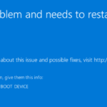 "Fix: Error ""Inaccessible Boot Device"" in Windows 10"
