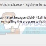 Fix: Error File D3dx9_43.dll - Download D3dx9_43.dll