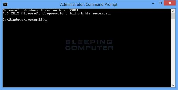 mở Elevated Command Prompt trong Windows 8