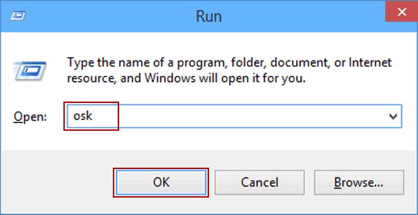 cách mở bàn phím trên màn hình máy tính